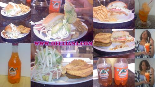 cemitas orange drink